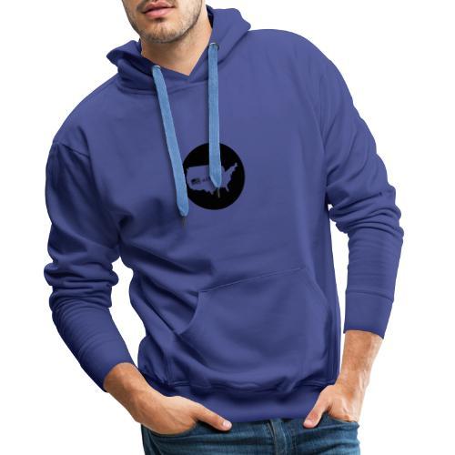 usalover - Sweat-shirt à capuche Premium pour hommes