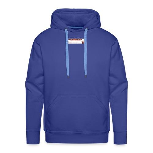 Anzeigegrebxmedia485schmalneu - Männer Premium Hoodie