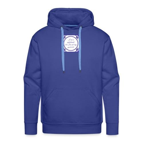 perfectionist tile - Mannen Premium hoodie