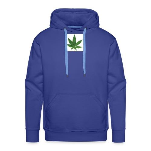 sticker feuille de cannabis - Sweat-shirt à capuche Premium pour hommes