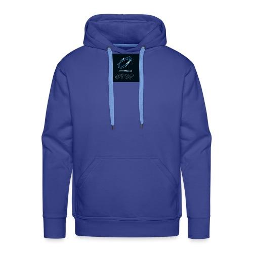 oTop black - Sweat-shirt à capuche Premium pour hommes