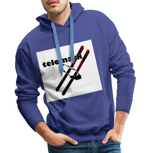 telemark-freeheel - Männer Premium Hoodie