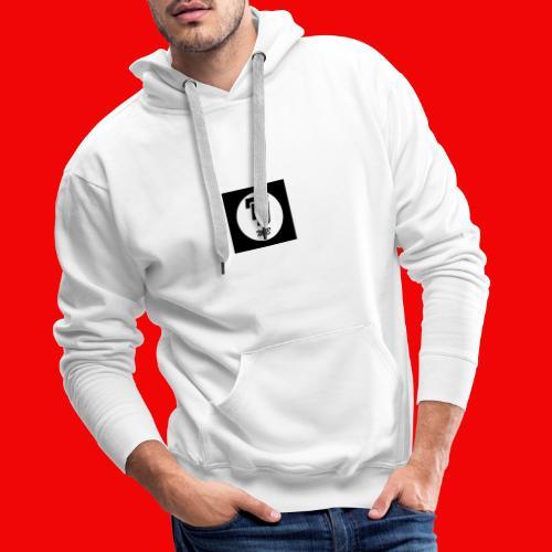 logo dj mb - Sweat-shirt à capuche Premium pour hommes
