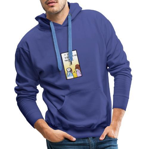 genie - Sweat-shirt à capuche Premium pour hommes