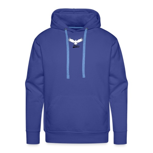Eagles logo design - Men's Premium Hoodie