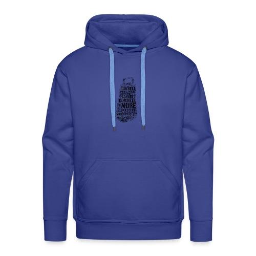 More Cowbell (Black) - Sweat-shirt à capuche Premium pour hommes