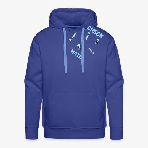 checkmate - Sweat-shirt à capuche Premium pour hommes