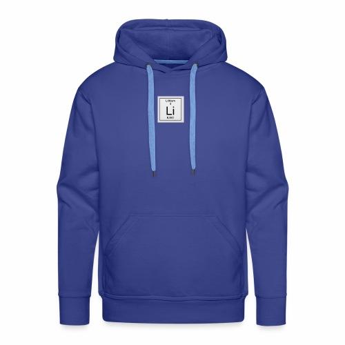 Lithium Periodic Table Image - Männer Premium Hoodie
