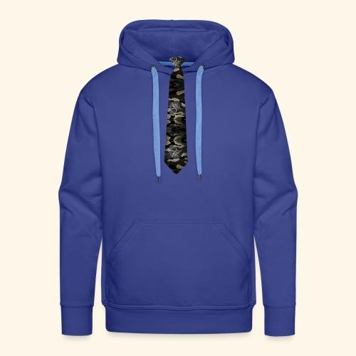 Krawatte 127 mit Goldnadel - Männer Premium Hoodie