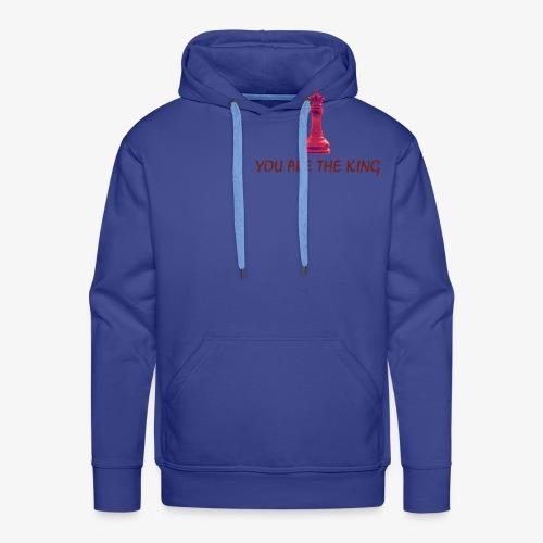 The King - Sweat-shirt à capuche Premium pour hommes