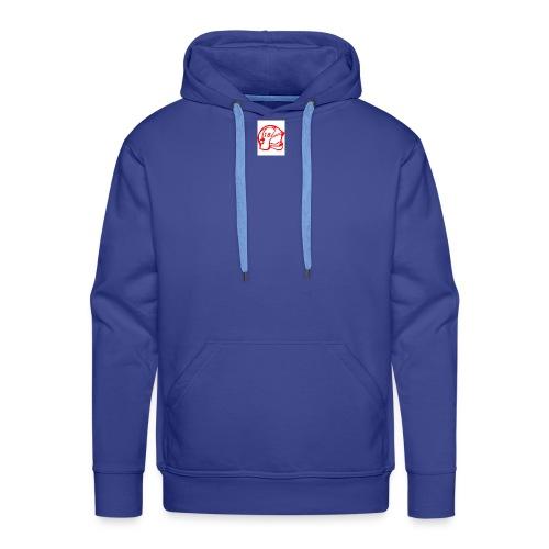 casque pompier - Sweat-shirt à capuche Premium pour hommes