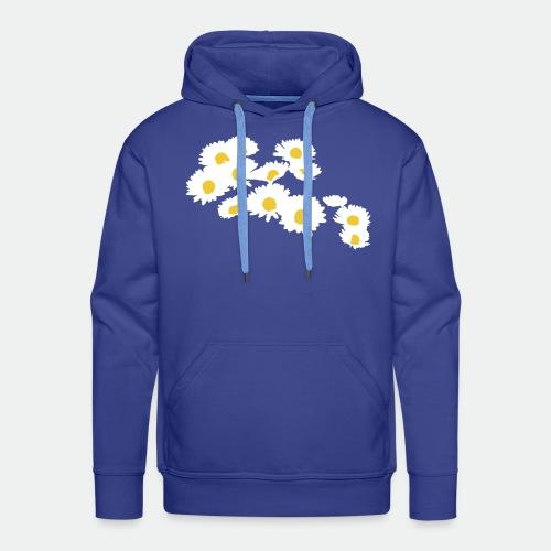 Spring Season Daisies - Men's Premium Hoodie