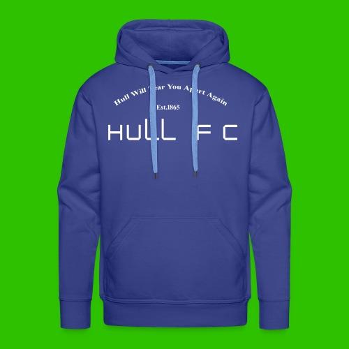Hull FC Joy [White] - Men's Premium Hoodie