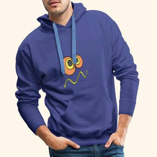 ogen vectorized - Sweat-shirt à capuche Premium pour hommes