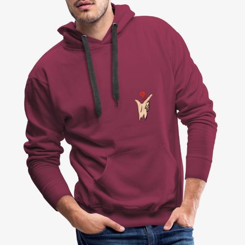 love sk8 - Sweat-shirt à capuche Premium pour hommes