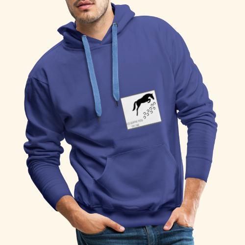 Association Les Quatre Fers En L'Air. - Sweat-shirt à capuche Premium pour hommes
