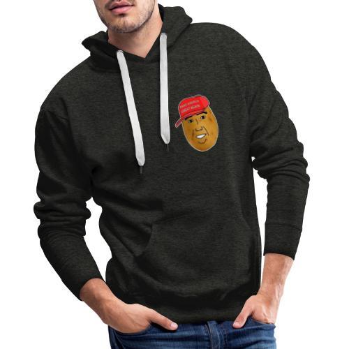 Potato - Sweat-shirt à capuche Premium pour hommes