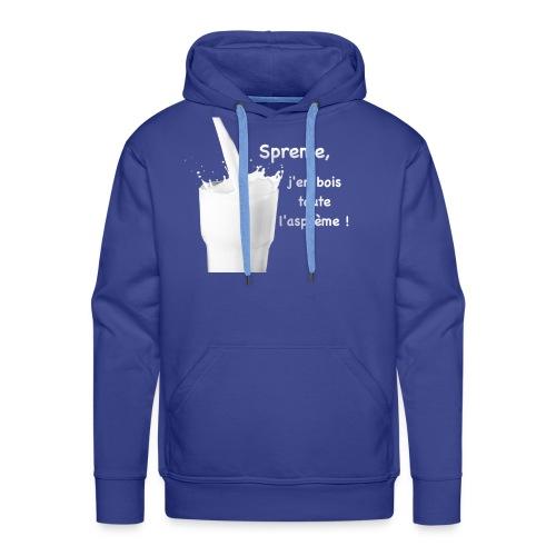 Logo Sprème - Sweat-shirt à capuche Premium pour hommes