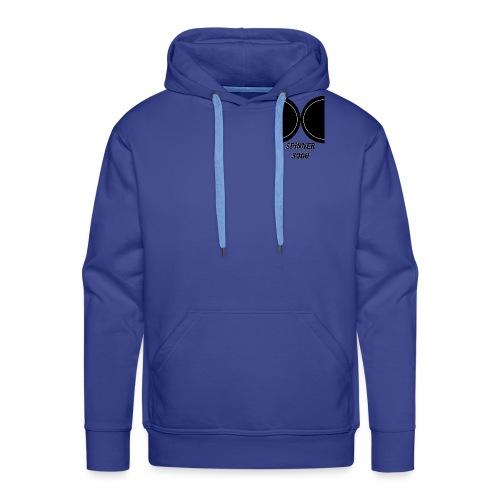 Dark logo - Sweat-shirt à capuche Premium pour hommes