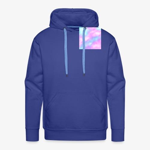 Pastel Sky - Sweat-shirt à capuche Premium pour hommes