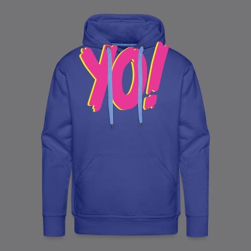 YO Tee Shirts - Men's Premium Hoodie