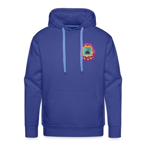 Tamagotchi Poo - Sudadera con capucha premium para hombre
