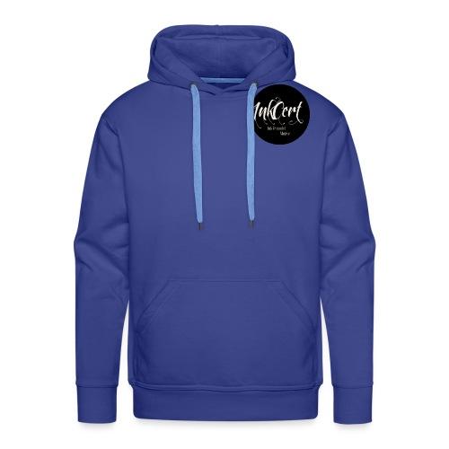 InkCert Small Logo - Men's Premium Hoodie