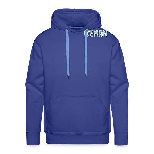 Iceman - Felpa con cappuccio premium da uomo