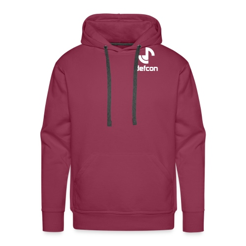 defcon logo and text vector2 - Men's Premium Hoodie