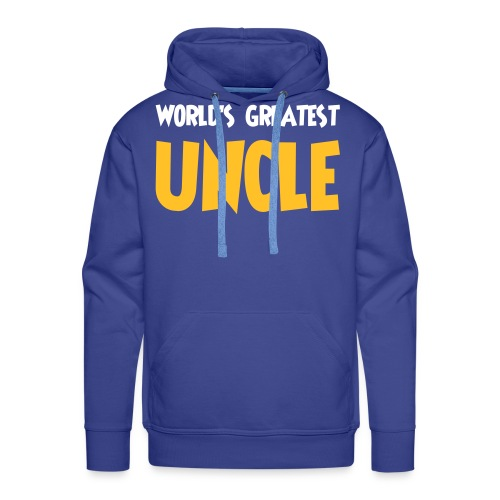World's greatest uncle - Men's Premium Hoodie