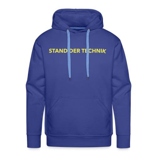 STAND DER TECHNIK - Männer Premium Hoodie