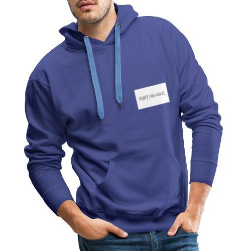 INSTABACK - Mannen Premium hoodie