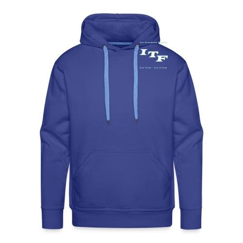 Logo Wit Trans - Mannen Premium hoodie