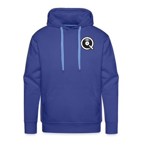 Qobuz Logo - Sweat-shirt à capuche Premium pour hommes