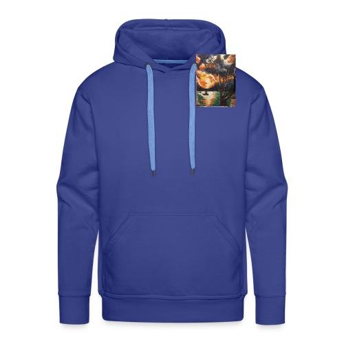 LA CORSE - Sweat-shirt à capuche Premium pour hommes