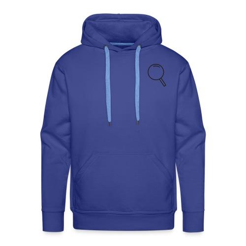 INCOGNITO - Bluza męska Premium z kapturem