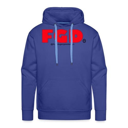 FGD - Sweat-shirt à capuche Premium pour hommes