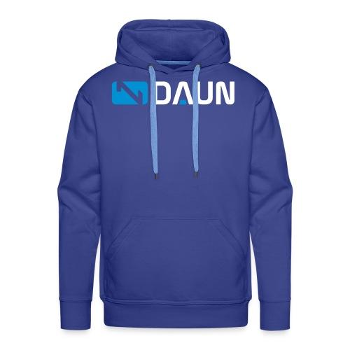 daun logo querkant - Männer Premium Hoodie