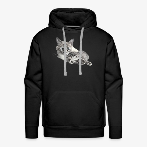 Snow and her baby - Men's Premium Hoodie