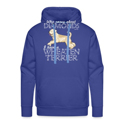 Wheaten Terrier Diamonds 4 - Men's Premium Hoodie