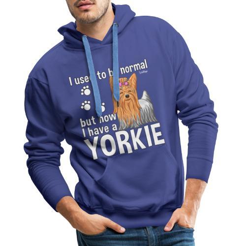 Yorkie Normal - Miesten premium-huppari