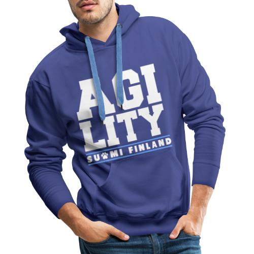 Agility Suomi - Miesten premium-huppari