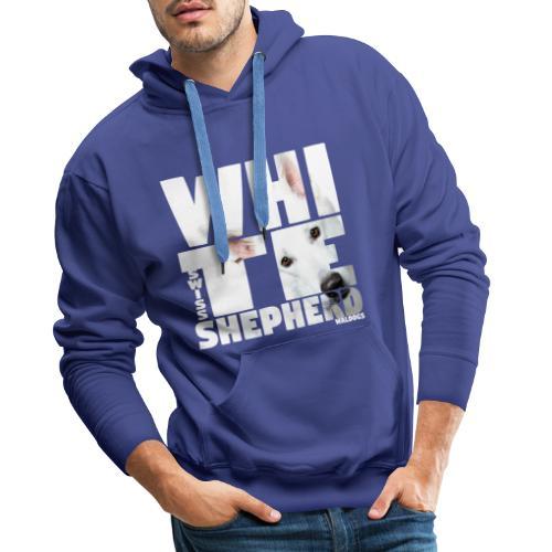 NASSU White Shepherd - Miesten premium-huppari