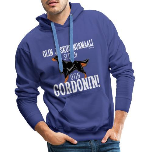 Gordoninsetteri Normaali - Miesten premium-huppari