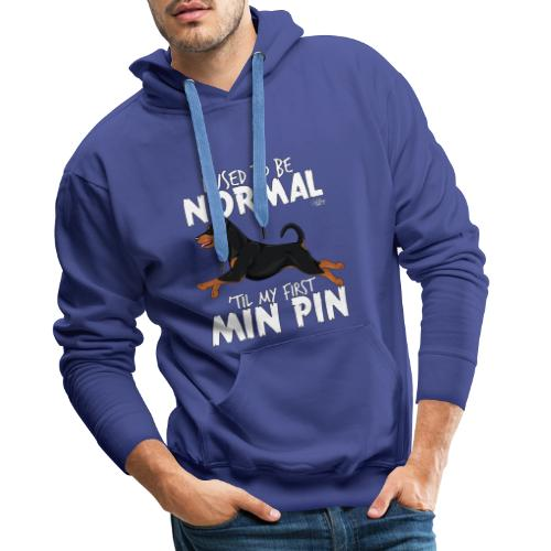 minpinnormal - Miesten premium-huppari