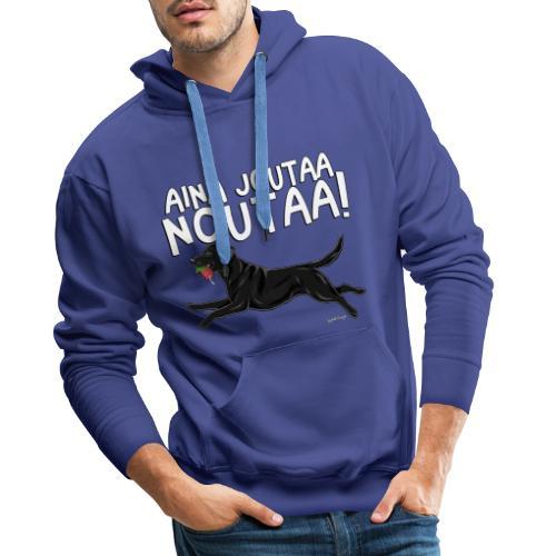 Labradori Noutaa - Miesten premium-huppari