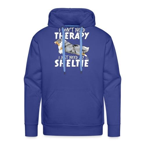 sheltietherapy4 - Men's Premium Hoodie