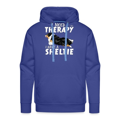 sheltietherapy2 - Men's Premium Hoodie