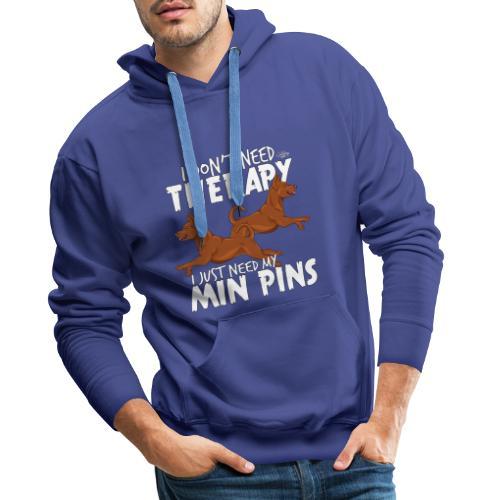 minpinstherapy - Miesten premium-huppari