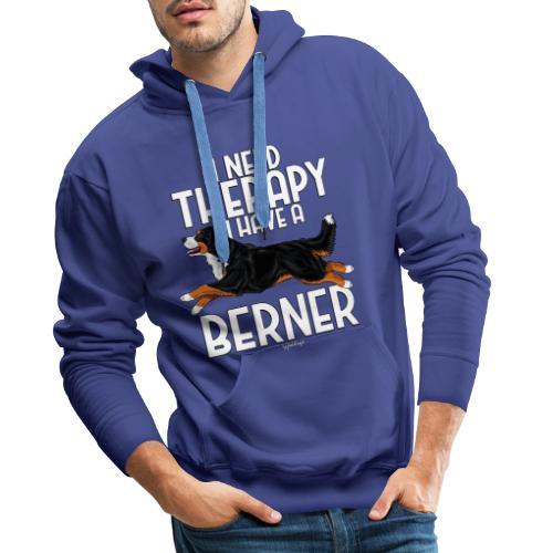 Bernese Berner Therapy 2 - Miesten premium-huppari